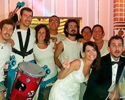 Batucada para bodas