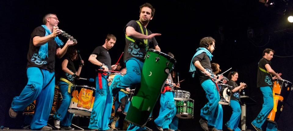 Baila a ritmo de samba