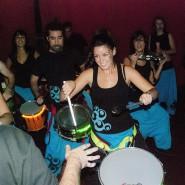 Actuación samba sala Caracol